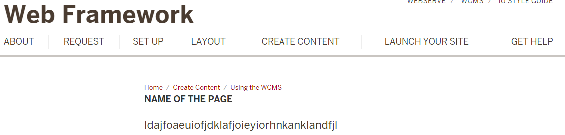 display name displayed on the site