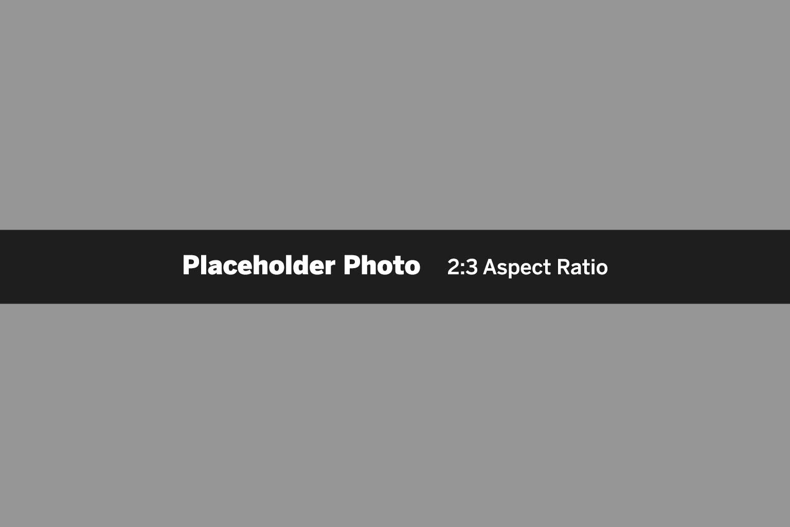 2:3 aspect ratio placeholder photo